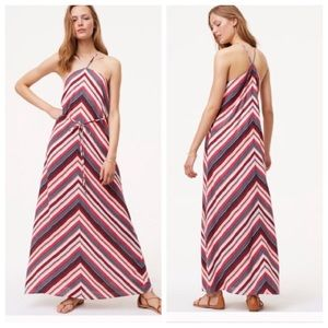 Loft Maxi Striped dress(OPEN TO OFFERS)